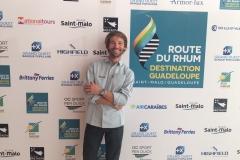 Photo-Call Route du Rhum-Destination Guadeloupe